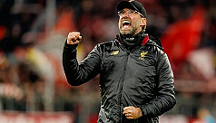 Klopp says Liverpool back at the top...