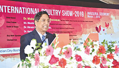11th international poultry show begins...