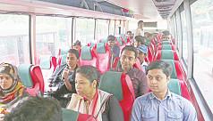 BRTC's new bus service stumbles at...