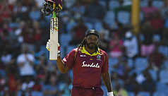 Gayle sends respect Windies World Cup...