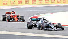 Agony for Leclerc as Hamilton wins in...