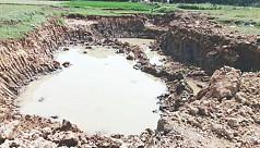 Brick kilns destroy fertile topsoil...