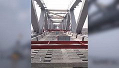 73% of Padma Bridge installation work...