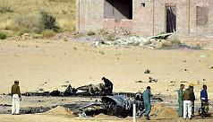 Bird collision crashes Indian jet near...