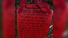 'Hello brother': Words that countered a gunman's hate