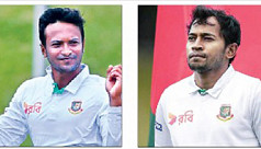 Shakib ruled out of third NZ Test, Mushfiq...