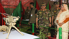 PM opens military hardware display