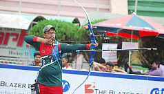 Ruman and Co lose QF in Asian Archery