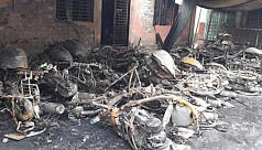 Fire at World Vision's Satkhira field office