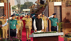 Home minister, IGP pay tribute to martyred...