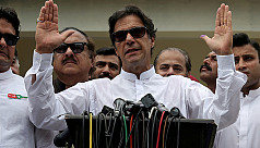 Pakistan's Khan fears conflict risk...