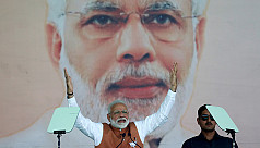 Poll: Boost to India's ruling party...
