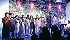 Ghaashphoring performs at Women's Day...