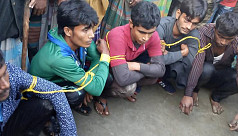 5 Pirojpur youths held after allegedly...