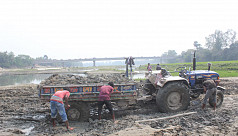 14 rivers in Dinajpur dry up due to...