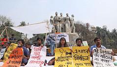 Hunger strike for re-run of Ducsu polls...