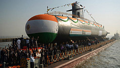 India signs $3bn submarine deal with...