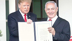 US recognition of Israeli sovereignty...