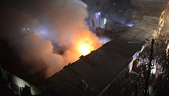 Fire at Old Dhaka paper warehouse