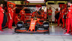 Mick Schumacher tests with Ferrari in...