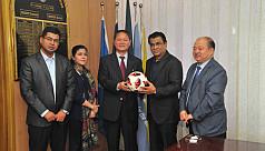 DPR Korea Ambassador to Bangladesh promises...