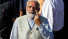 Modi votes in third phase of mammoth...