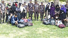 27 Rohingyas rescued from Teknaf while...