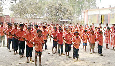 2 teachers for 265 students at a Dinajpur...