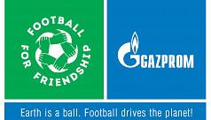 Gazprom Football for Friendship trial...