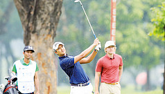 Sadom clings onto Bangabandhu Cup Golf...
