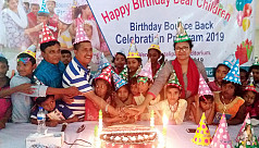 3,500 under privileged kids' birthdays...