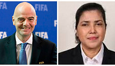 Fifa president congratulates Kiron on...