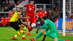 Bayern demolish Dortmund 5-0 to reclaim...