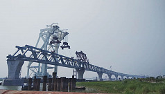 10th Padma Bridge span installed