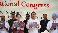 India's Congress promises jobs, end...