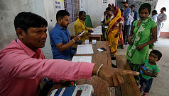 Indians vote in 5th phase of election;...