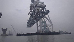 1.5km of Padma Bridge now visible as...