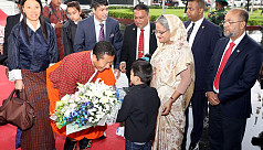 Red carpet rolled out as Bhutanese PM...