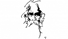 Two song lyrics by Rabindranath Tagore