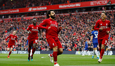 Liverpool back on top as Salah stunner...