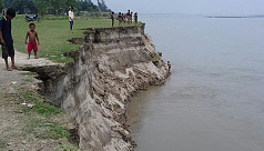 Jamuna river erosion strikes...