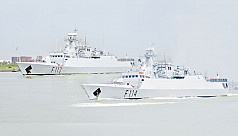 PM Hasina commissions five modern navy...