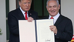Trump made Golan Heights decision after...