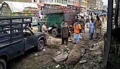 Suicide blast rips through Pakistani...