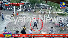Suspected Sri Lanka suicide bomber caught on camera entering church