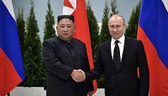 Kim, Putin vow to seek closer ties at...