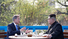 Two Koreas mark Moon-Kim summit anniversary...