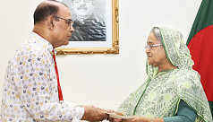 PM donates Tk35 lakh to actor Ahmad...
