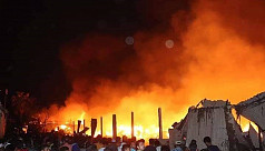 Fire engulfs cotton, garment warehouses...