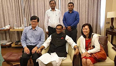 Quader discharged from Singapore...